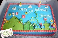 mario birthday party outdoors - Google Search