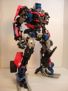 Transformers, Optimus Prime, Movie Version by Johnny-Dai #lego #robot #mecha