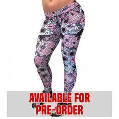 Available for pre-order:  Sugar Skull Leggings