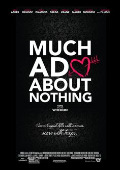 much ado about nothing poster - Google Search
