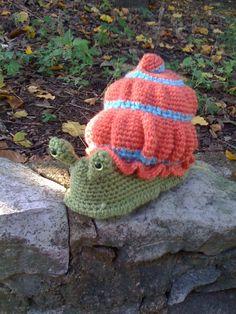 Silas the Snail  Crochet Pattern Instructions by WendysWildLife, $6.00