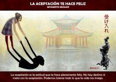 La aceptación te hace feliz Frases Yoga, Persona Feliz, Clothes Hanger, Words, Motivational Quotes, Spirit Quotes, Attitude, Feelings, Emotional Intelligence