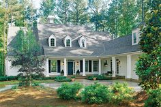 New House Architecture Plan Southern Living Ideas House Layout Plans, House Plans One Story, Best House Plans, House Layouts, Story House, Southern Living House Plans, Simple House Plans, House Architecture Styles, Architecture Plan