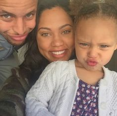 Like what you see⁉ Follow me on Pinterest ✨: @joyceejoseph ~   Ayesha Curry Lets the Haters Know She Wouldn't Change A Thing About Daughter Riley