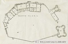 Dudley Castle: lithograph