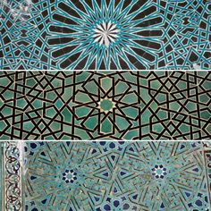 Selçuklu yapılarındaki geometrik çini motifleri