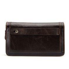 MARRANT 2016 Genuine Leather Men Wallets New Man Wallet Double Zipper Men Purse Fashion Male Long Wallet Man's Clutch Bag 9013