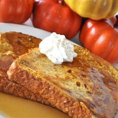 "Pumpkin Pie French Toast |"" Great recipe! It completely tasted like pumpkin pie."""