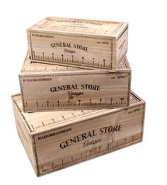 Set Of Three Ruler Style Storage Vintage Boxes ukgiftstoreonline £31.40 http://www.amazon.co.uk/dp/B00EALHM2O/ref=cm_sw_r_pi_dp_qF-jvb0DTQRSE