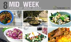 8 MID week meal ideas  Gluten Free, Grain Free, Paleo, Clean Eating Dinner