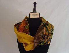 """Zum Wenden - Loop """"Africa"""" Unikat Handbatik - ein Designerstück von hofatelier-mode bei DaWanda"""