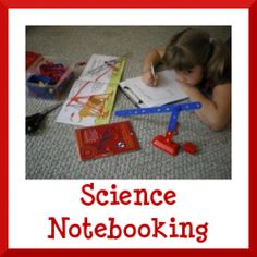 Science Notebooking - post provides some great examples and how to links for notebooking