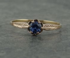 Gorgeous Sweetheart Ring Vintage Mounting with Fine by MSJewelers, $365.00
