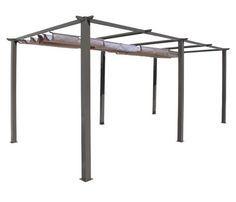 P rgola de aluminio elegance ref 13433035 leroy merlin terrazas pinterest - Ikea pergolas jardin ...