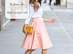 Fashion Fix: High waisted rok - My Simply Special