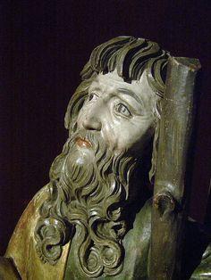 Master Paul of Levoča, circle of, St Andrew, c 1524,