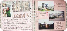 Scrapbookingowy album /Szkocja/ | >-< Ciasteczka Tynki
