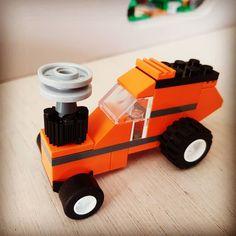 Lego mini tractor