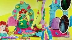 Ariel Cenicienta y Rapunsel  Play-doh Plastilina en Palacio Real