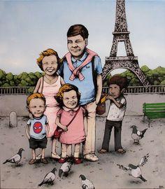 Street Artist Dran aka the French Banksy - My Modern Metropolis