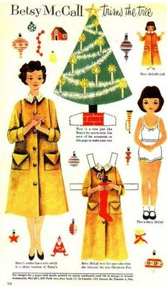 Betsy McCall   I used to love these, my mom would let me get my paper dolls out before she read her magazine.