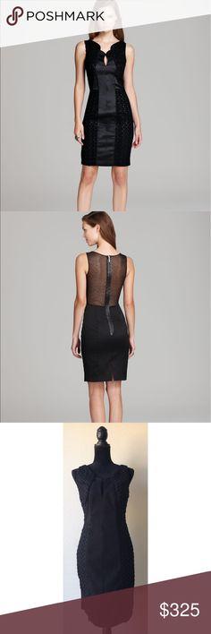 Black halo Miranda dress New with tags! Super fabulous little black dress! Sheer back Black Halo Dresses Mini