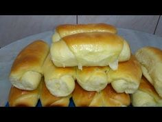Rice Recipes, Bread Recipes, Cooking Recipes, Red Rice Recipe, Hot Dog Buns, Bagel, Low Carb, Baking, Food