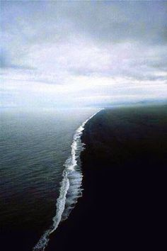 In the Gulf of Alaska, two oceans come together but the water does not mix.