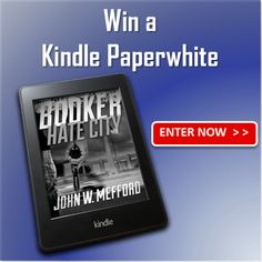 BOOKER – Hate City Kindle Paperwhite Giveaway