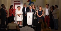GRANADA.El presidente de la Diputación, junto a su equipo de gobierno, hace balance de los dos años de mandato, destaca el alto grado de cumplimiento de los compromisos