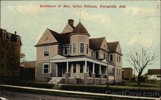 Residence of Mrs. Letha Dillman in Paragould, AR