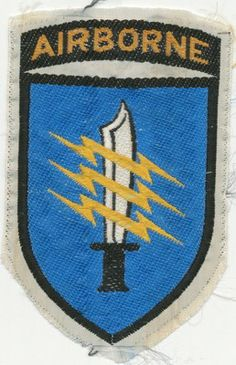 vietnam special forces insignia | Vietnam Special Forces Mike Force Silk Patch | Vietnam War Patches