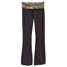 Realtree Juniors Camo Yoga Pants