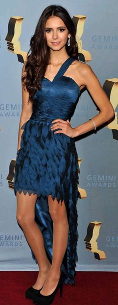 #NinaDobrev, at  Gemini Awards 2010