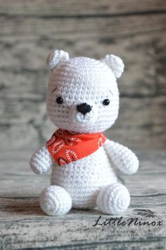 SALE Cute Bear   amigurumi crochet toy