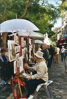 Montmartre my favorite place in Paris