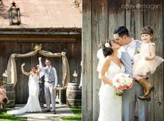 Galleano Winery Wedding. Erin and Clinton. Ceremony Barn Wedding.  I Do.