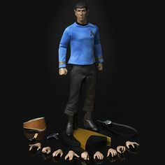 This is a brand new Star Trek The Original Series Spock 1:6 Scale Articulated Action Figure! Fascinating. 12-inch tall action figure of Mr. Spock from... #articulated #action #figure #scale #spock #trek #original #series #star