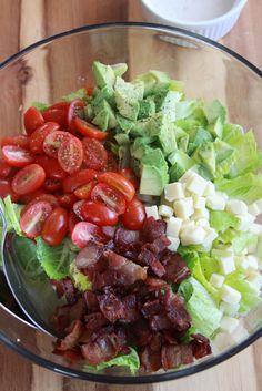 Summer Chopped Salad   Espresso and Cream 2