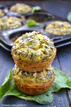 Muffins aux fanes de radis et au ch�vre