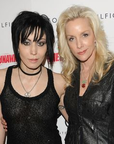 "Joan Jet & Cherie Currie - Premiere of ""The Runaways"" movie"