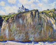 The Church at Varengeville - Claude Monet - quite different from the colors of bofranssons..