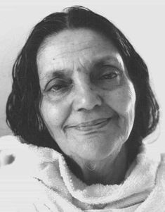 Anandamayi Ma - the photo worshipped in our home