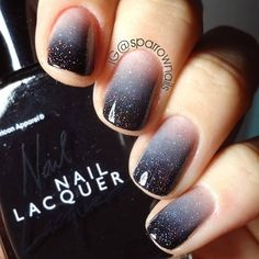 21 Gradient Nails Art Ideas You'll Wish To Try This Season - Beautiful nails - Nageldesign Stylish Nails, Trendy Nails, Cute Nails, My Nails, Oval Nails, Nagellack Design, Gorgeous Nails, Amazing Nails, Amazing Makeup