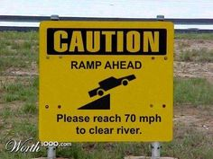 This must be in Hazzard county... #Funny #DukesOfHazzard #Car #Speed