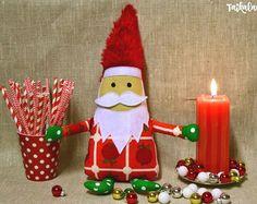 Scandinavian Tomte - Christmas Gnome - Santa Claus Doll - Tonttu - Nisse - Christmas Decor - Nordic Christmas - Santa Decoration - Elf  #christmas #christmasdecor #scandinaviantomte #christmasgnome #santaclausdoll #tonttu #nisse #nordicchristmas #santadec