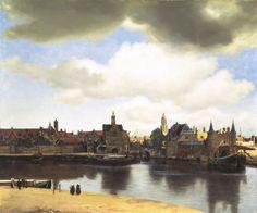 Paisaje de Delft, Vermeer. 1662.