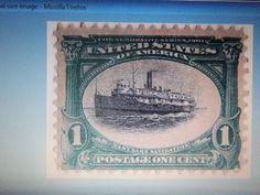 1901-#294 -1 CENT PAN AMERICAN ISSUE-MINT, OG-F/VF $$+ GIN BONUS