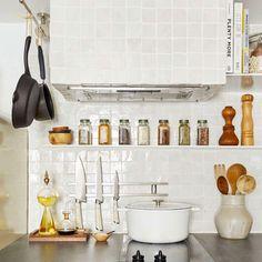 Rental Kitchen, Diy Bathroom, Unique Tile, Studio Kitchen, Tiny Spaces, Small Rooms, Painting Kitchen Cabinets, Kitchen Backsplash, Home Organization