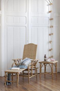 chaise longue ancienne en rotin fin 19 me vintage j 39 adore pinterest rotin chaises longues. Black Bedroom Furniture Sets. Home Design Ideas